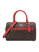 COACH 蔻驰 奢侈品 女士人造革手提单肩斜挎包桶包 F83607 IML72