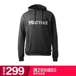土拨鼠(Marmot)户外运动日用休闲男士带帽卫衣曜石黑 XL *3件
