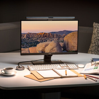 BenQ 明基 ScreenBar Plus 屏幕智能挂灯 银灰色