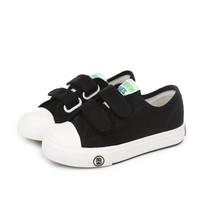 人本 童鞋低帮宝宝室内鞋儿童布鞋黑色 29