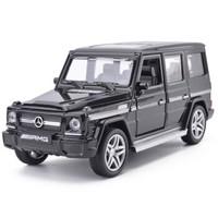 MINI AUTO 建元 奔驰 G65AMG 合金仿真车模型 黑色 *8件