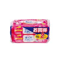Pigeon 贝亲婴幼儿湿巾手口专用湿巾替换装70*2