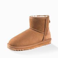 Ozwear UGG 男女款短筒雪地靴