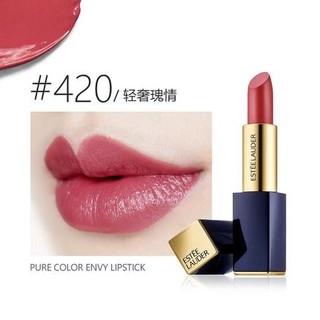 银联专享 : ESTEE LAUDER 雅诗兰黛 花漾倾慕唇膏口红 #420 玫瑰豆沙色 3.5g
