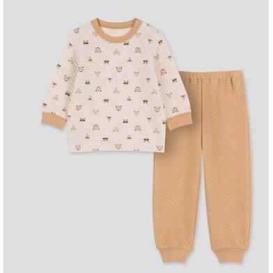 UNIQLO 优衣库 420071 婴儿压线睡衣