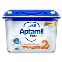 爱他美 安心罐 白金版 双重HMOs Aptamil 幼儿配方奶粉2+段 800g *6件