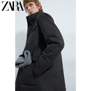 ZARA Traveller 08418450802 男士派克外套 黑色 S码
