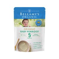 贝拉米(Bellamy's) 婴儿有机燕米糊 婴儿米粉 125克/袋装 原装进口 辅食添加初期