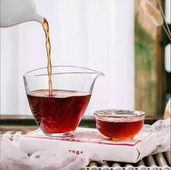 中茶 云南普洱茶熟茶砖茶经典7581标杆茶砖 250g