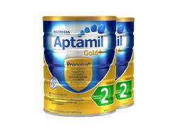 Aptamil 澳洲爱他美 奶粉金装 2段 900g 2罐装