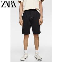 ZARA新款 男装 拉链短裤 09240424401