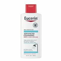 Eucerin优色林 敏感肌肤温和保湿洗面乳/沐浴露