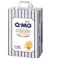 Q-MO 奇莫 皇家至柔婴儿纸尿裤 L 66片 *2件