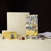 kinbor × 迪士尼 DTB6571 复古漫画手账本文具礼盒 *3件