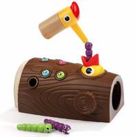 京东PLUS会员 : 特宝儿 宝宝早教益智抓虫玩具男孩儿童智力开发啄木鸟捉虫游戏 啄木鸟捉虫游戏120392 *3件