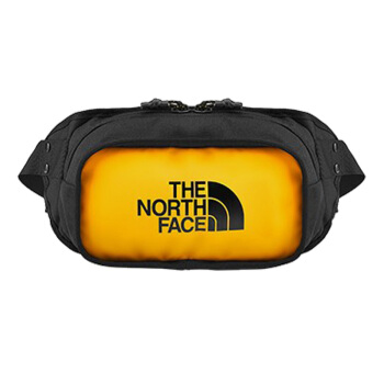 THE NORTH FACE 北面 新品 经典款 轻盈运动 腰包 3KZX/LR0  黄色