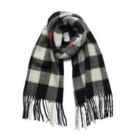 Luigi Baldo 格纹羊绒围巾