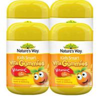 银联专享:Nature's Way 佳思敏 Smart 儿童维生素c+锌软糖 60粒*4瓶装