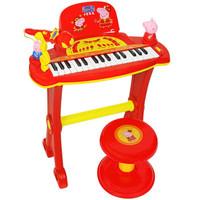 Peppa Pig 小猪佩奇 儿童玩具电子琴 新春版
