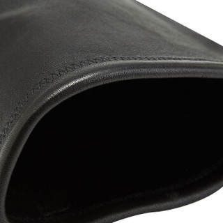 STUART WEITZMAN 斯图尔特·韦茨曼 女士黑色皮革平底过膝高筒靴 LOWLAND BLACK STR NAPPA 35.5