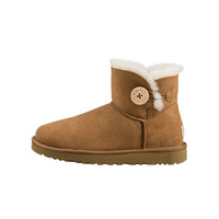 UGG Mini Bailey Button II系列 女士防水防污纽扣短筒雪地靴