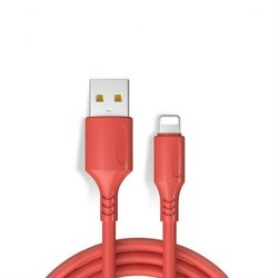 广逸 软胶iPhone充电线 1.2m 1条装 木槿红