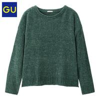 GU 极优 318718 女装百搭毛衣