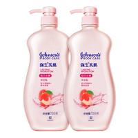 Johnson's body care 强生美肌 恒日水嫩沐浴乳 蜜桃香氛 720g*2瓶