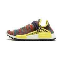 adidas 阿迪达斯 Human Race NMD AC7360 男子跑步鞋 暗蓝,橘红,浅黄,白色 41