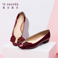 le saunda 莱尔斯丹 22901 女款春夏平口女单鞋