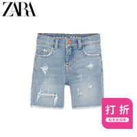 ZARA 新款 童装男童  牛仔短裤 06840660406
