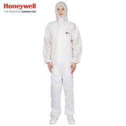 霍尼韦尔(Honeywell)4500101 防化服 标准连体防护服 防粉尘 防液体喷溅 白色M码