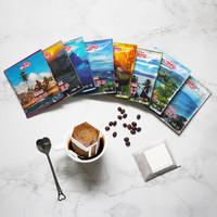 铭氏Mings 精品挂耳咖啡粉10g*40包 8口味原产地咖啡豆研磨 手冲滴漏式黑咖啡粉 *2件