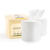 三本(SEMBEM)抽取式化妆棉套装 250抽+补充装*2(轻柔卸妆棉防水胶盒装) *3件