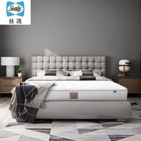 美国丝涟(Sealy) 床垫 爱脊舒享 乳胶床垫 钛合金 美姿感应弹簧 席梦思双人 软硬适中 1.8米*2米厚23厘米 *2件