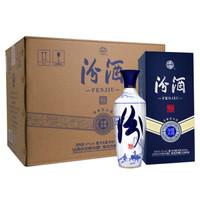 汾酒 白酒 青花汾酒大师版 青韵 清香型 42度 500ml*6瓶 整箱装