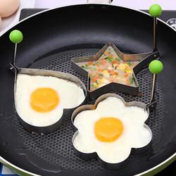 加厚不锈钢煎蛋器模型 荷包蛋磨具爱心型煎鸡蛋模具 创意煎蛋圈 爱心形