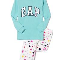 Gap 盖璞 幼儿 Logo徽标星星图案家居服套装