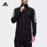 adidas 阿迪达斯 TT FT 3S DW4598 男运动型格针织立领夹克外套