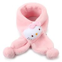 凯蒂猫(HELLO KITTY)儿童围巾女童脖套 KT01B310012粉