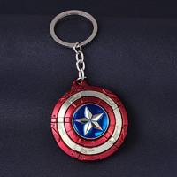 美队盾牌钥匙扣 汽车钥匙挂件