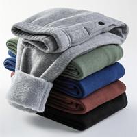 南极人 儿童保暖裤 单层加绒 110-170cm