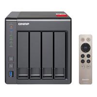 顺丰 专票·威联通QNAP TS-451  NAS企业级网络存储器赛扬2.0G四核CPU 2G内存
