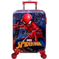 迪士尼(Disney)儿童拉杆箱18英寸小学生行李箱 漫威蜘蛛侠登机箱万向轮旅行箱 DH19029-S红色 *2件