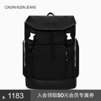 CK JEANS HH2115K9100 001 黑色双肩包