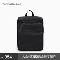 CK JEANS 2019秋冬新款 男士轻便休闲旅行双肩包 HH2103Q6000 001-黑色 ST