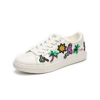Kenneth Cole 凯尼斯柯尔 KL01993LE 女士平底板小白鞋 *2件