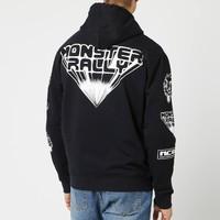 ALEXANDER MCQUEEN Monster Rally 怪兽印花男士套头卫衣