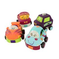 B.Toys 比乐 胶质滑行回力车 *3件