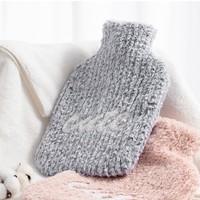 MINISO 名创优品 注水热水袋+针织防烫套 1.8L